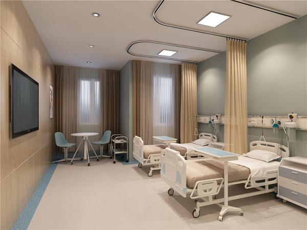 重庆医院装修如何进行色彩搭配?