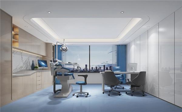 重庆牙科医院空间小怎么装修设计?